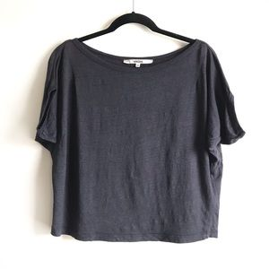 Hache Linen Top Made in Italy
